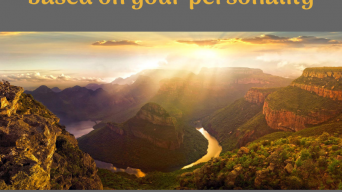 Where to go in South Africa based on your personality